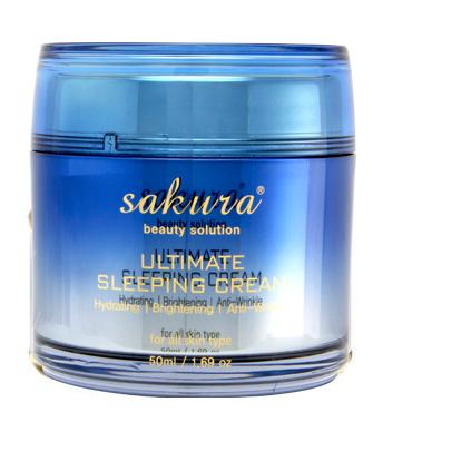 Mặt nạ ngủ 4 tác động Sakura Ultimate Sleeping Cream