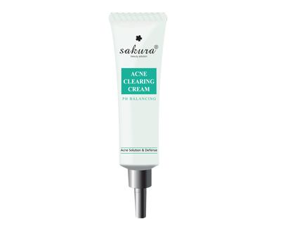 Kem trị mụn hiệu quả Sakura Ance Clearing Cream