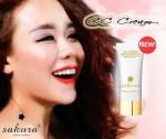 Hot girl Mi Do Ri trang điểm rạng ngời với CC cream