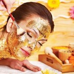 Kem dưỡng đắt giá cho da với vàng